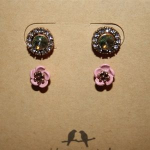 Femme Des Fleurs Convertible Stud Earrings